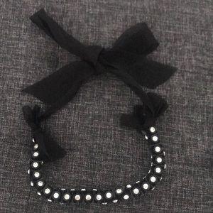 J crew ribbon necklace